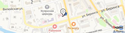 Городская поликлиника на карте Елизово