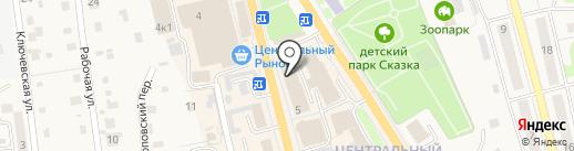 Hesburger на карте Елизово