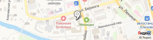 Елизовская городская прокуратура на карте Елизово
