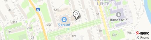 1001тур на карте Елизово
