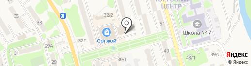 FLORANS на карте Елизово
