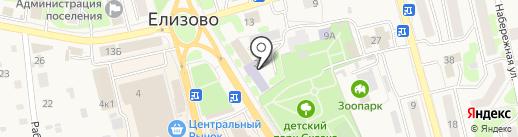 Центр детского творчества, МБОУ на карте Елизово