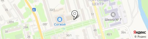 УЗОН на карте Елизово