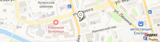 Адвокат Самарин Г.В. на карте Елизово