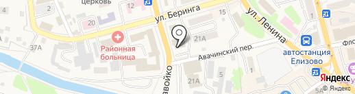 Атрибут на карте Елизово