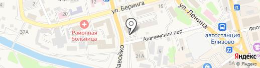 Юнилаб-Камчатка на карте Елизово