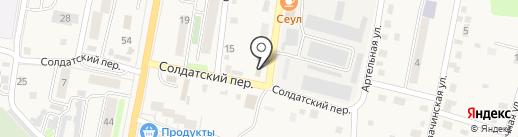 Лидер на карте Елизово