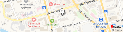 Любимый на карте Елизово