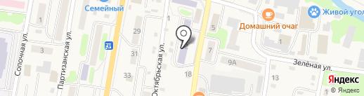 Профессиональное училище №5 на карте Елизово