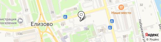 Участковый пункт полиции на карте Елизово