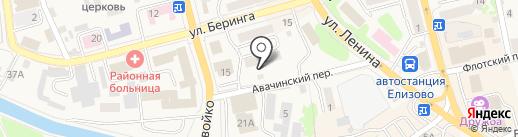 Даль-Росмед на карте Елизово
