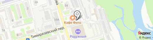 Фито на карте Елизово