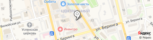 Фиона на карте Елизово