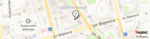 Нотариус Ковалева С.В. на карте Елизово