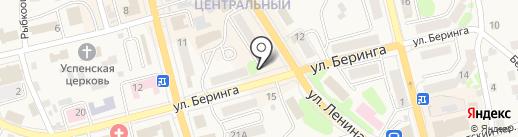 Нотариус Галицкая И.А. на карте Елизово