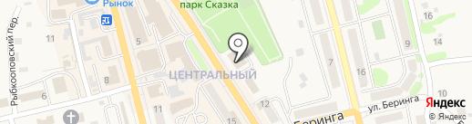 Юность на карте Елизово