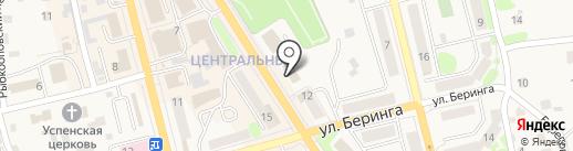 Банкомат, Газпромбанк на карте Елизово