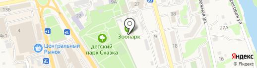 Елизовский районный Зоопарк на карте Елизово