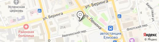 Камчатский центр по выплате государственных и социальных пособий на карте Елизово