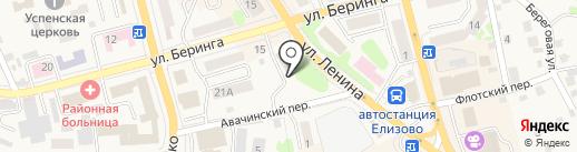 Комиссия по делам несовершеннолетних и защите их прав Елизовского муниципального района на карте Елизово