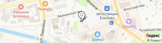 Мастерская по ремонту одежды на карте Елизово