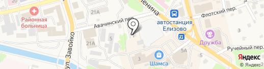 Дизель на карте Елизово
