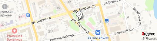 Дума Елизовского муниципального района на карте Елизово