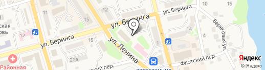 Призывной пункт по г. Елизово и Елизовскому району на карте Елизово