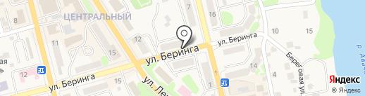Елизовское районное общество охотников и рыболовов на карте Елизово