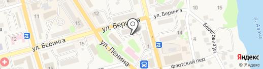 Инспекция государственного технического надзора Камчатского края на карте Елизово