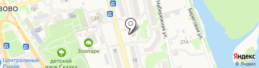 Фитнес STYLE на карте Елизово