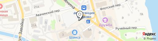 Сотовый Мир на карте Елизово