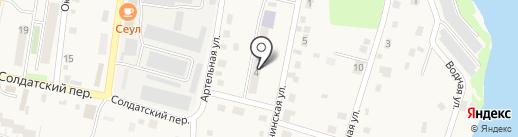 Транспортная компания на карте Елизово