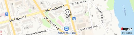 Камуфляж на карте Елизово