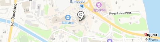 Камчатский сувенир на карте Елизово