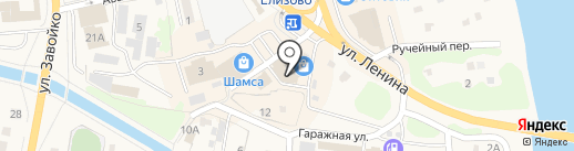 Ля Шер на карте Елизово