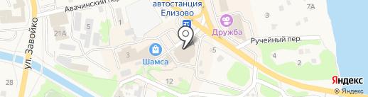 Джинсамания на карте Елизово