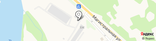 Ржавый пес на карте Елизово