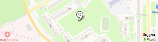 Вилючинская городская больница на карте Вилючинска