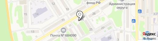 Автопилот на карте Вилючинска