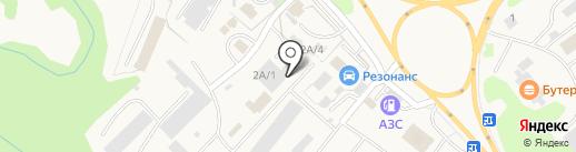 КОНТАКТ на карте Елизово