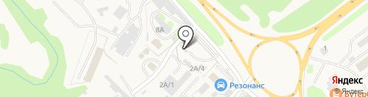 Аква на карте Елизово