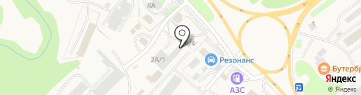 Теплоклимат на карте Елизово