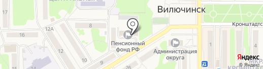 Альянсспецстрой на карте Вилючинска