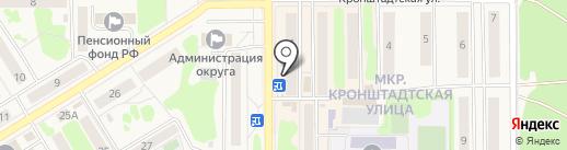 Redline на карте Вилючинска