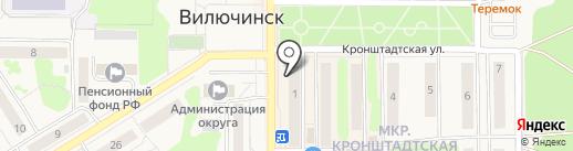 Евростиль на карте Вилючинска