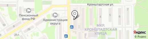 Билетур на карте Вилючинска