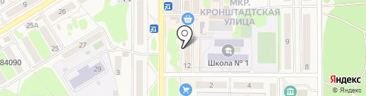 888 на карте Вилючинска