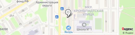 Феникс на карте Вилючинска