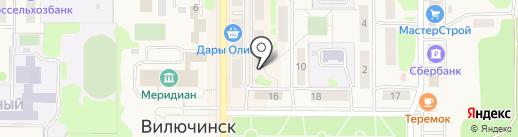 Ирида на карте Вилючинска